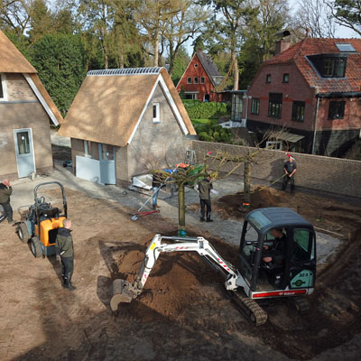 Complete aanleg van tuinen